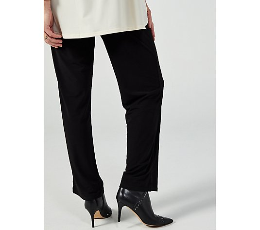 Trousers With Side Vents by Michele Hope