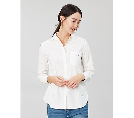 Joules Lorena Luxe Woven Shirt with Bees