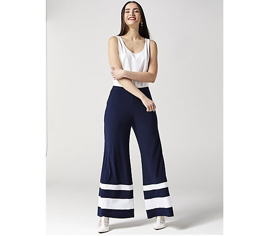 Coco Bianco Contrast Stripe Trousers