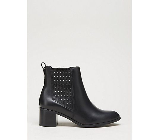 Dune PLAZA Leather Ankle Boot