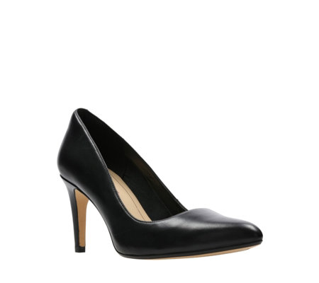 Clarks Laina Rae Pointed Court Shoe Standard Fit