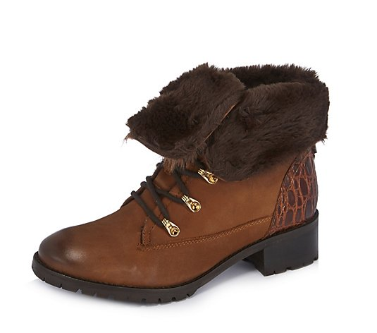 Moda in Pelle Balmet Lace Up Hiker Boot