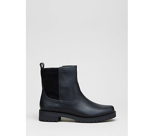 Vionic Mystic Brynn Leather Waterproof Chelsea Boot