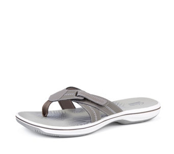 Clarks Brinkley Calm Toe Thong Sandal - 167831