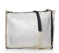 Ashwood Leather Crossbody Bag with Detachable Chain Strap - 168831