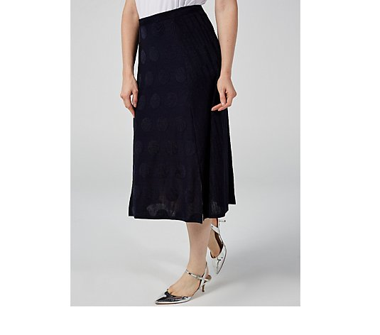 Phase Eight Spot & Stripe Skirt