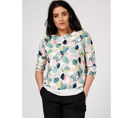 Phase Eight Laina Leaf Print Blouse