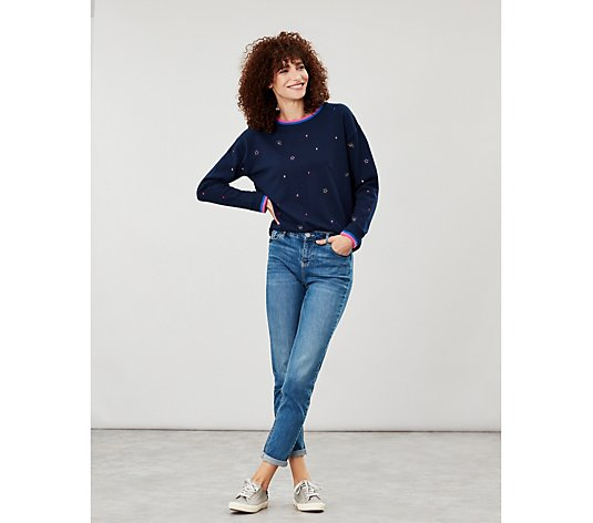 Joules Rib Slim Fit Sweater