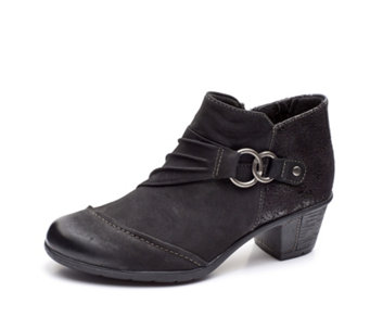 Earth Spirit Tampa Ankle Boot with Buckle Detail - 167933