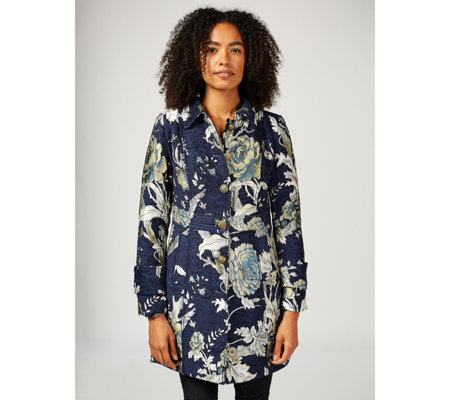 Joe Browns Textured Jacquard Coat