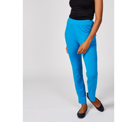 Antthony Designs Straight Leg Trousers with Elasticated Waist