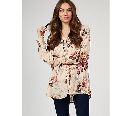 Together Crinkle Printed Shirt