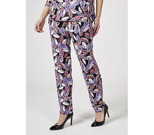 Antthony Designs Printed Tapered Trousers