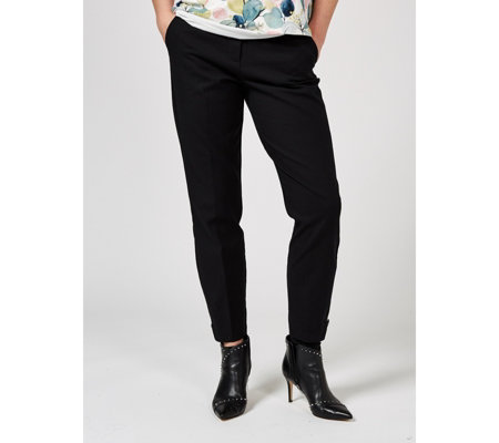 Phase Eight Maxime Button Hem Trousers