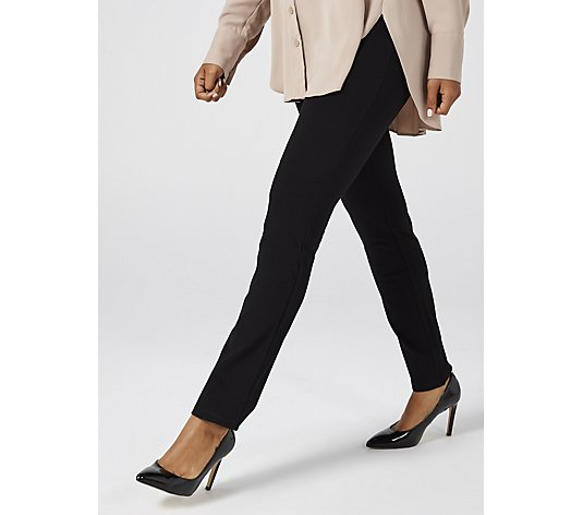 Women with Control Ponte  Slim Leg Trouser