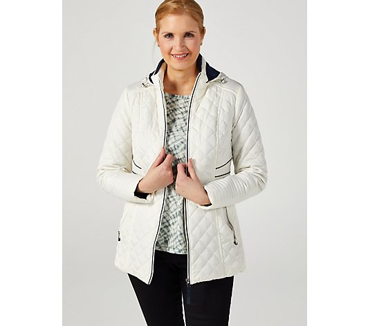Centigrade Diamond Quilted Jacket