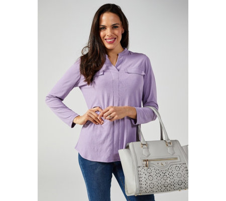 Mr Max Mirage Knit Long Sleeve Top