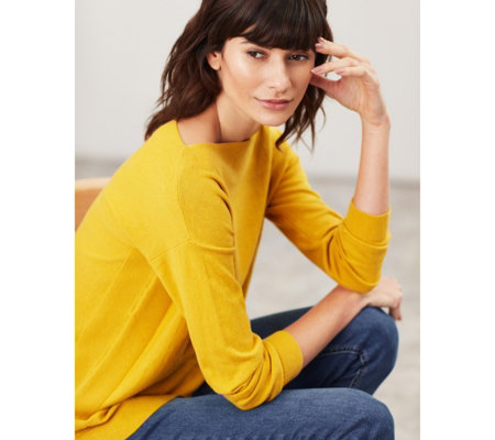 Joules Bess Jumper with Side Seam Rib Detail