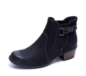 Earth Spirit El Reno Ankle Boot with Buckle Detail - 167935