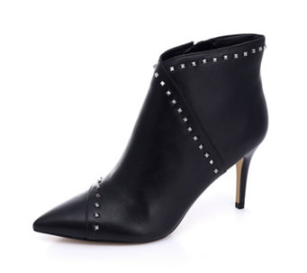 253b1fccf0d Marc Fisher Riva Studded Narrow Fit Leather Ankle Boot - 174635