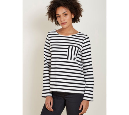 Baukjen Emma Swing Stripe Top