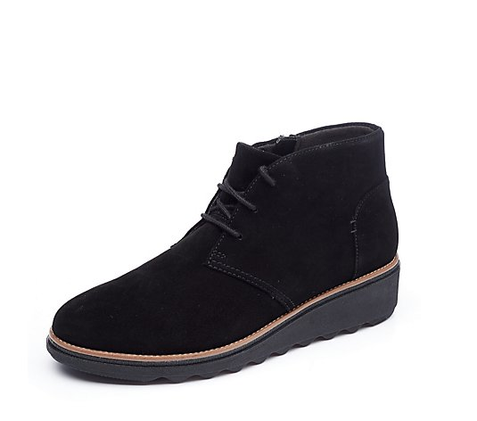 Clarks Sharon Hop Lace Up Boot Standard Fit