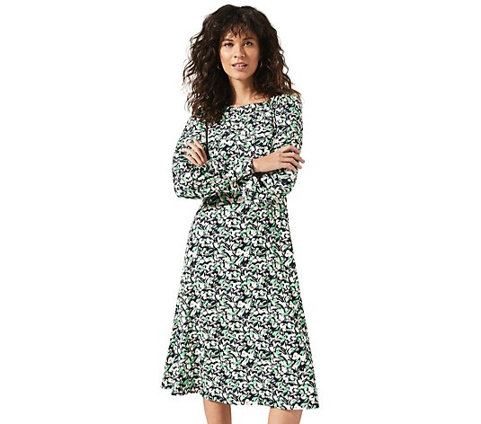 Phase Eight Sonia Smudge Floral Print Dress