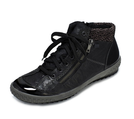 Rieker Water Resistant Lace Up Trainer