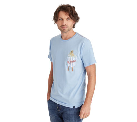 Joe Browns Men's 'Peekaboo' Short Sleeve T-Shirt