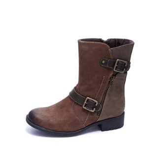 Earth Spirit Dayton Mid Calf Boot with Buckle Detail - 167936