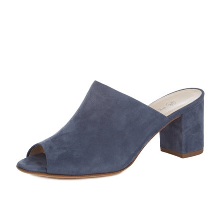 Peter Kaiser Anizi Suede Slip On Mule