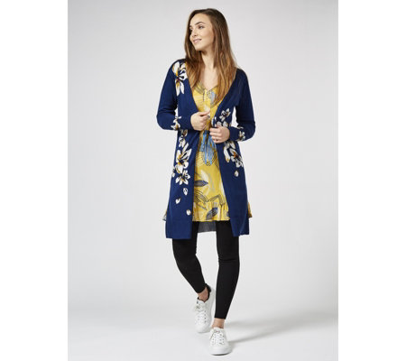 Joe Browns Easy Wearing Longline Knit Cardigan