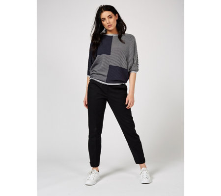 Phase Eight Caila Colour Block Knit Top