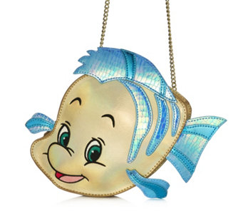Disney Danielle Nicole Little Mermaid Flounder Crossbody Bag - 166237