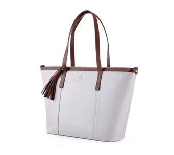 Ashwood Tassel Leather Shopper Bag - 166337