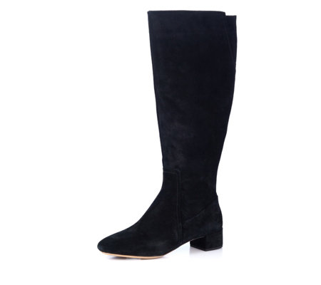 Clarks Orabella Ava Block Heel Knee High Boot