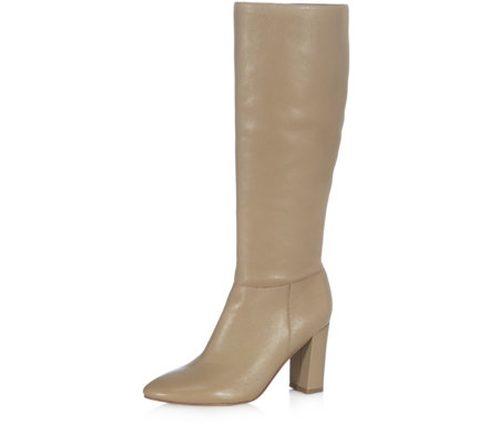 Marc Fisher Zimra Leather Calf Boot
