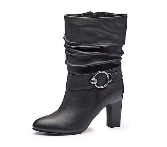 Moda in Pelle Pralie Ruched alf Boot