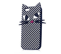 Lulu Guinness Stripe Kooky Cat Case for iPhone 6, 7 & 8 - 160739