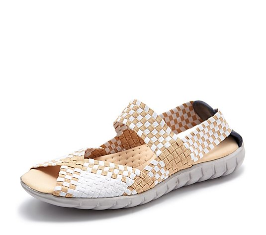 Adesso Alice Stretch Weave Sandal