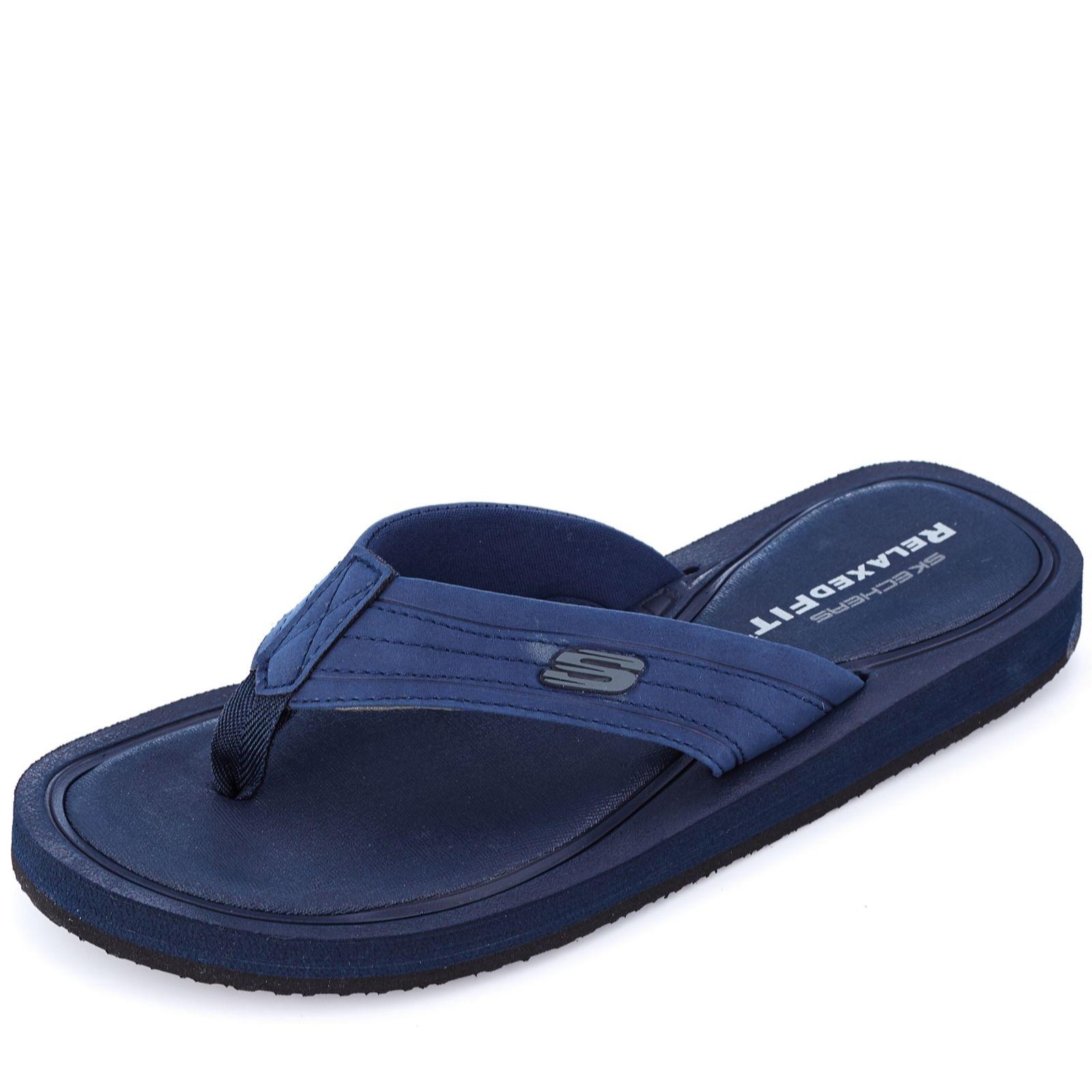 skechers mens sandals memory foam
