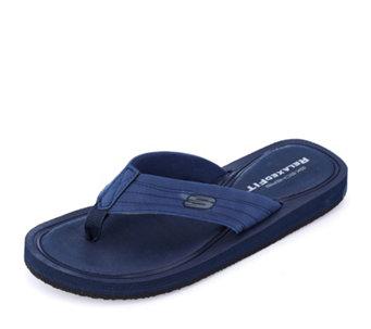 341e5a4aabc9 Skechers Men s Tocker Relaxed Fit Slip In Sandal Memory Foam - 172939