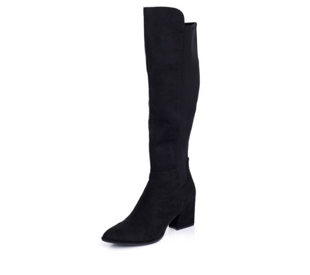 Marc Fisher Lecture Knee High Heeled Boot