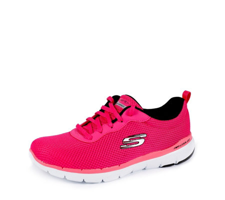 Skechers Flex Appeal 3.0 First Insight Mesh Lace Trainer