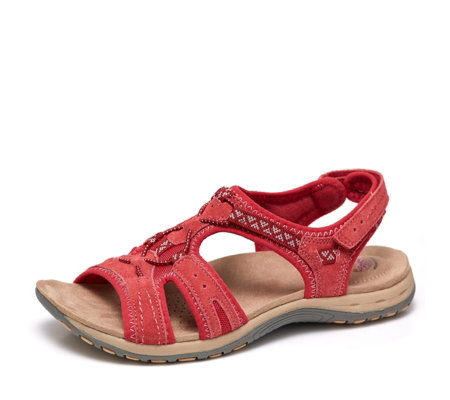 Earth Spirit Fairmont Sandal with Bunjee Strap Detail