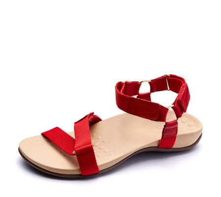 best price to buy uk availability Vionic Orthotic Rest Candace Canvas Strap Sandal w/ FMT ...