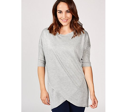 Ruth Langsford Lightweight Knit Cross Front Tunic