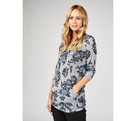 Grace Front Gather Tunic With Pockets