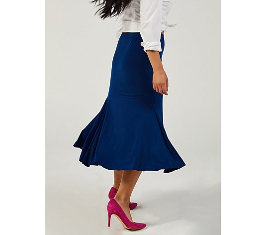 Panelled Skirt by Michele Hope
