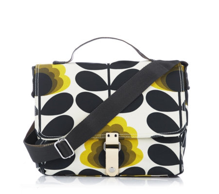 Orla Kiely Summer Flower Satchel Bag